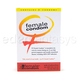 Female condom - Reality female condoms 3 pack - view #2