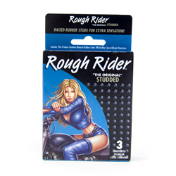Male condom - Rough rider studded - view #3