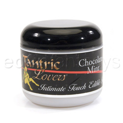 Tantric lovers edible massage souffle - cream