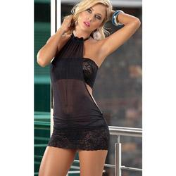 Bralette mini dress