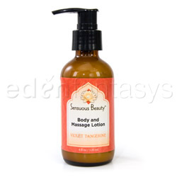 Body massage lotion