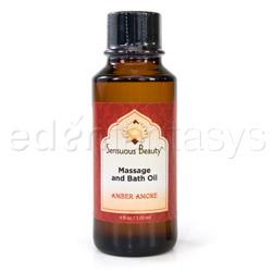 Sensuous bath oil