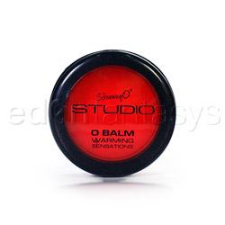 Lip balm - Studio collection Warming O balm - view #2