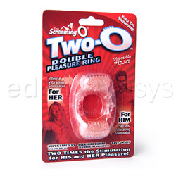 Cock ring - Two-O double pleasure ring - view #4