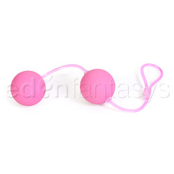 First time love balls duo lover - exerciser for vaginal muscles