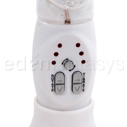 Rabbit vibrator - Rechargeable beaded butterfly - view #6