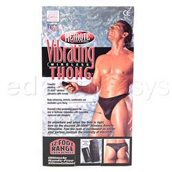 Vibrating panty  - Remote vibrating wireless thong - view #4