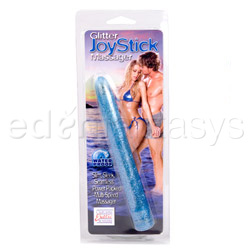 Traditional vibrator - Glitter joystick massager - view #3