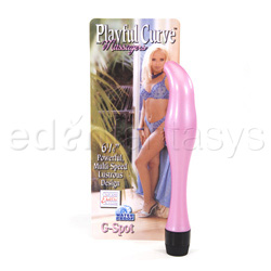 G-spot vibrator - Playful curve massager G-spot - view #3