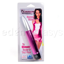 Traditional vibrator - Shimmers massager - view #5