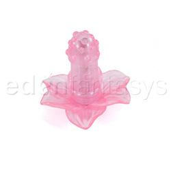 Silicone passion flower - anal vibrator