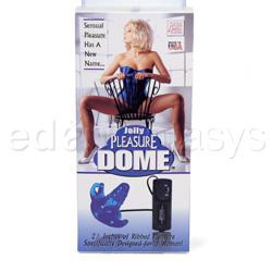 Triple stimulation vibrator - Pleasure dome - view #4