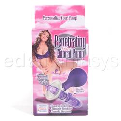 Clitoral pump - Penetrating mini clitoral pump - view #3
