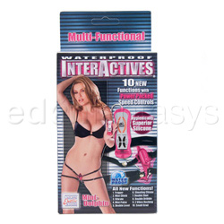 Strap-on vibrator - Interactives mini dolphin - view #4