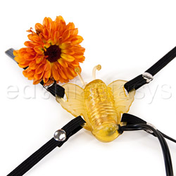 Strap-on vibrator - Micro butterfly - view #2