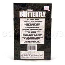 Cuerda para vibrador - Micro butterfly - view #5