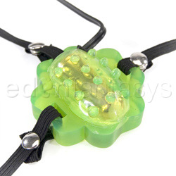 Strap-on vibrator - Four leaf clover - view #1