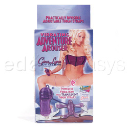 Strap-on vibrator - Gina Lynn's vibrating adventure arouser - view #5