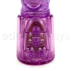 Rabbit vibrator - PowerGem purple - view #4