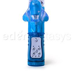 Triple stimulation vibrator - Triple orgasm triple kiss - view #2