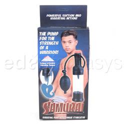 Penis pump - Samurai vibrating pump - view #3