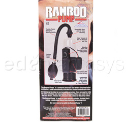 Penis pump - Ramrod pump - view #4