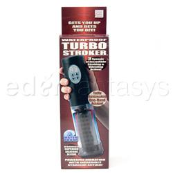 Penis pump - Waterproof turbo stroker - view #5