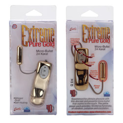 Slim bullet - Extreme pure gold micro bullet - view #3