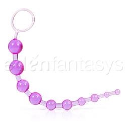 X - 10 beads - anal beads