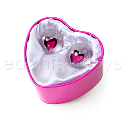 Crystal balls - exerciser for vaginal muscles