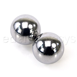 Vaginal balls  - Silver balls - view #4