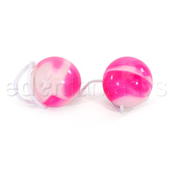 Duotone orgasm balls - sex toy