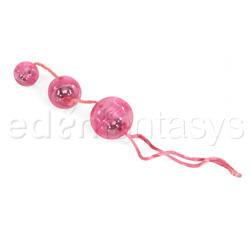 Graduated orgasm balls - exerciser for vaginal muscles