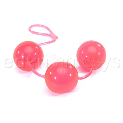 Lover's pleasure balls - exerciser for vaginal muscles