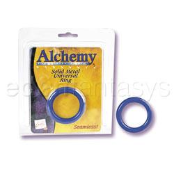 Alchemy-metal ring - DVD