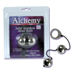 Alchemy metal orgasm balls - DVD