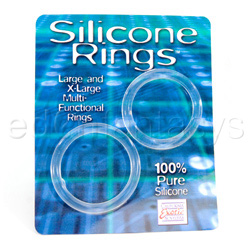 Silicone rings  set