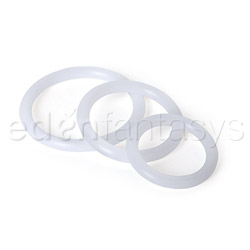 Silicone support rings - cock ring