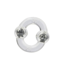 Magnetic power ring (clear) - cock ring