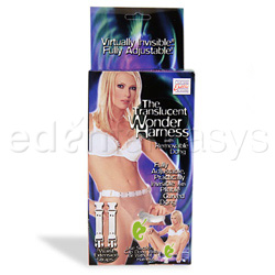 Harness and dildo set - Translucent wonder harness - view #5