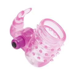Basic Essentials bunny enhancer - Cock ring