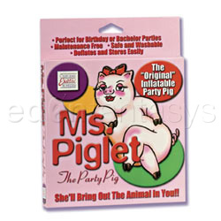 Ms.Piglet party pig - animal love doll