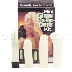 Vibrator kit  - Mini glow-in-the-dark kit - view #4