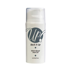 Back it up water based anal gel - lubricant