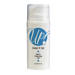 Keep it up men's delaying gel - lubricant