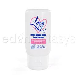 Cream - Love stuff femme arousal creme - view #1