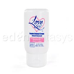 Love stuff femme arousal creme - cream