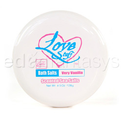 Love stuff bath salts - sensual bath