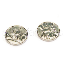 Heads or tails silver coins - Gags