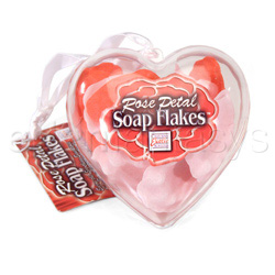 Rose petal soap flakes - sensual kit
